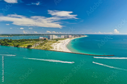 Tuinposter Dubai Beautiful Beaches of Florida