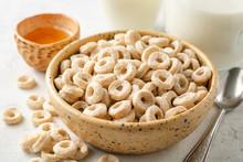 Whole Grain Cereal Rings In Bo...
