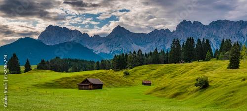 Buckelwiesen im Karwendel bei Mittenwald