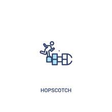 Hopscotch Concept 2 Colored Ic...