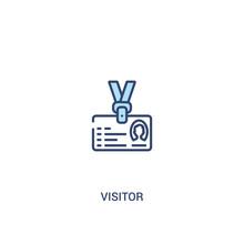 Visitor Concept 2 Colored Icon...