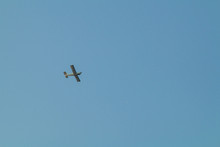 Small Plane Flying Low In The ...