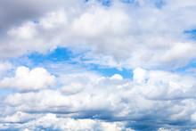 Low Dense Cumulus Clouds In Bl...