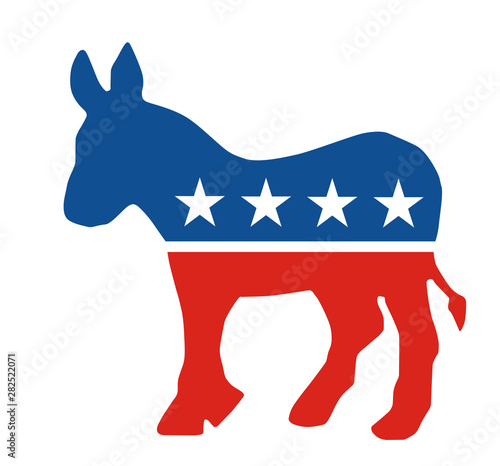 Wallpaper Mural Democratic Party donkey
