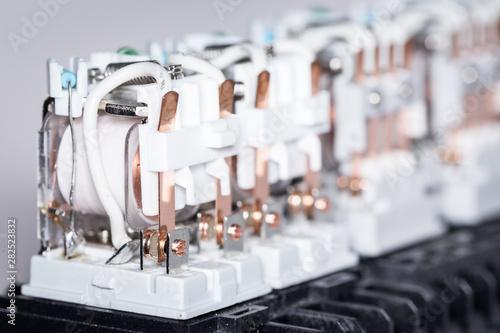 Fotografija  Electromagnetic relays