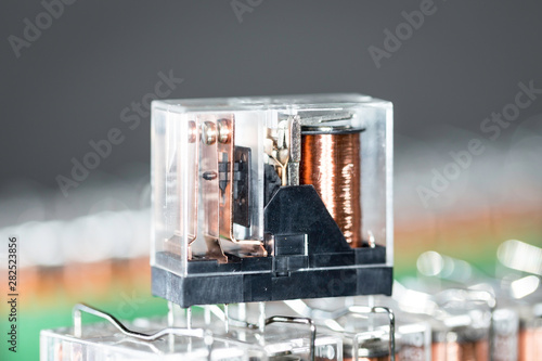 Fotografia, Obraz  Electromagnetic relays