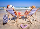 Fototapeta Fototapety z morzem do Twojej sypialni - Wakacje na plaży nad morzem, Urlop nad morzem