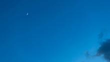 月・タイムラプス