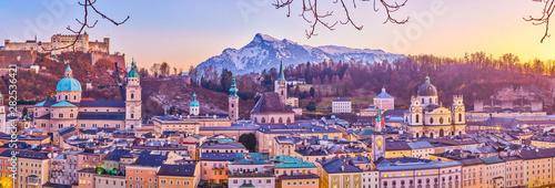 Fényképezés  The medieval Salzburg, Austria