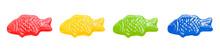 Isolated Multicoloured Fish-sh...