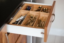 Types Of Silverware In A Drawer