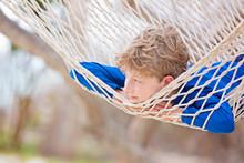 Kid At Tropical Vacation