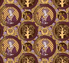Byzantine Pattern. Seamless Pa...