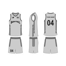 Basketball Jersey Set Template...