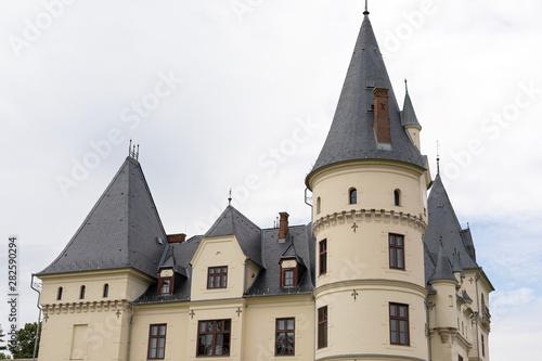 Obraz na plátně  Andrassy Castle In Tiszadob