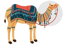 Decorative Camel Character On ...