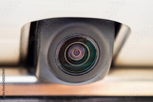 Fotografie, Obraz car rear view camera close up for parking assistance