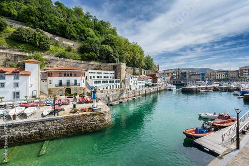 Fototapeta premium Port San Sebastian