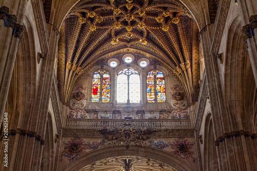 Fotografie, Obraz  Interior of the new Cathedral of Salamanca