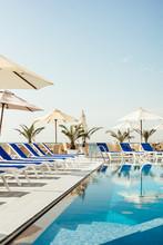 Swimming Pool At Luxury Resort/hotel