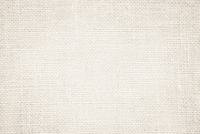 Cream Abstract Sackcloth Towel Mock Up Template Fabric On With Background. Wallpaper Of Artistic Wale Canvas. Blanket Or Curtain Of Pattern And Copy Space For Text Decoration.