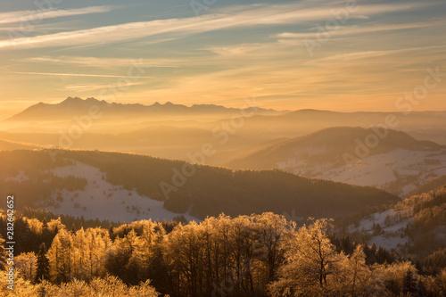 Beskid Sądecki - Karpaty Góry #282642652