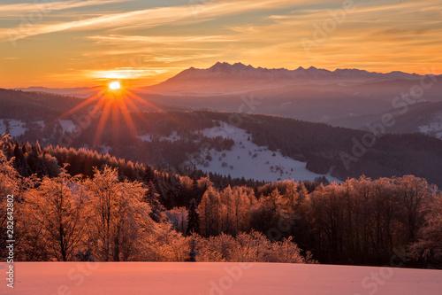 Beskid Sądecki - Karpaty Góry
