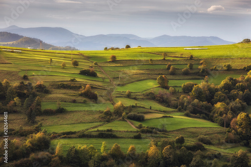 Beskid Sądecki - Karpaty Góry - fototapety na wymiar