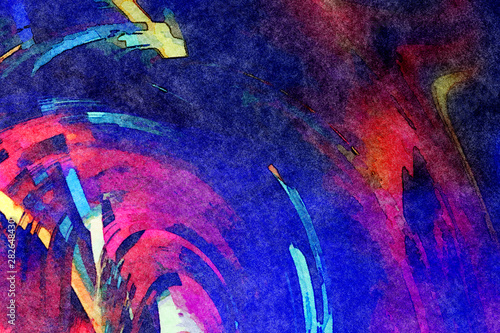 Photo  Big size printable art pattern for design advertise billboard banner, flyers, covers, invitation backdrop