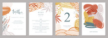 Invitation, Menu, Table Number...