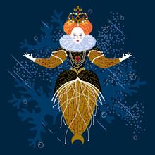 Queen Elizabeth Mermaid Charac...