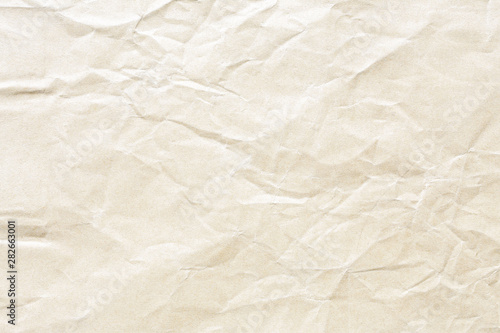 Poster Pays d Asie brown crumpled paper background texture