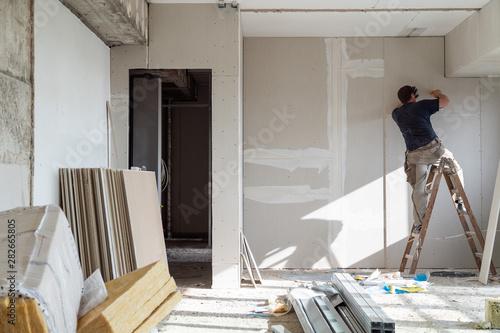 Obraz Trockenbau - fototapety do salonu