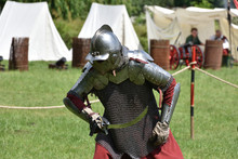 Medieval Polish Knight In A Ch...