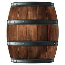 Wooden Barrel For Wine Or Othe...