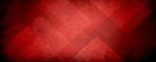 Abstract Red Background With B...