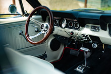 Interior Of A Classic Vintage ...