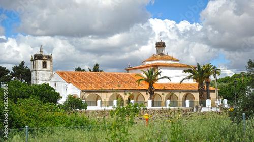 Photo  Hermitage of Virgen del Pilar in Casas de Don Antonio a village of Caceres provi
