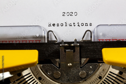 Photo  2020 Resolutions, 2020 Concept