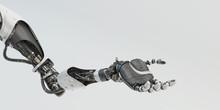 Prosthetic Handsome Robotic Ar...