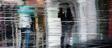 Blurry Reflection Shadow Silho...