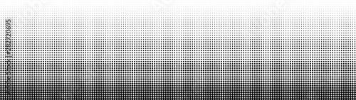 Fototapeta Halftone. Abstract gradient background of black dots. Vector illustration. obraz