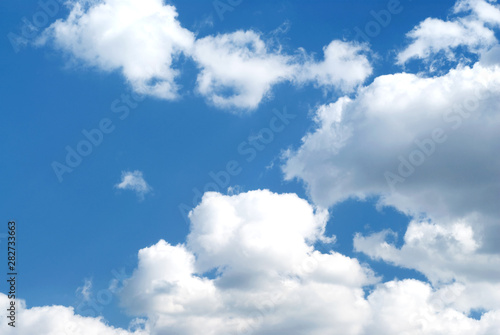 Canvas Prints Heaven Photo of fluffy clouds