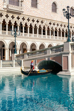 A Gondolier At The Venetian Ho...