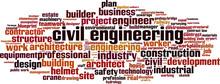 Civil Engineering Word Cloud