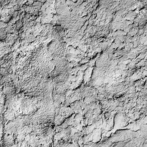 Photo The texture of hardened cement