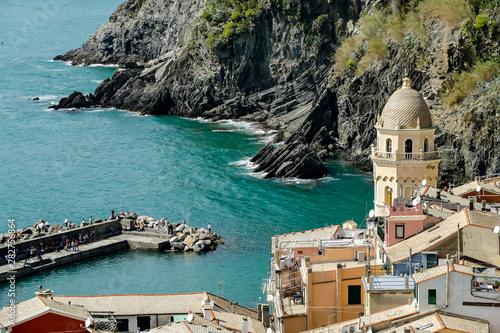 Fototapety, obrazy: riomaggiore cinque terre italy, in cinque terre, Liguria, Italy