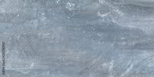 Marble texture background pattern with high resolution. Blue marble texture background floor decorative stone interior stone - 282760867