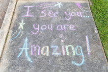 "The Words ""I See You, You Are ..."