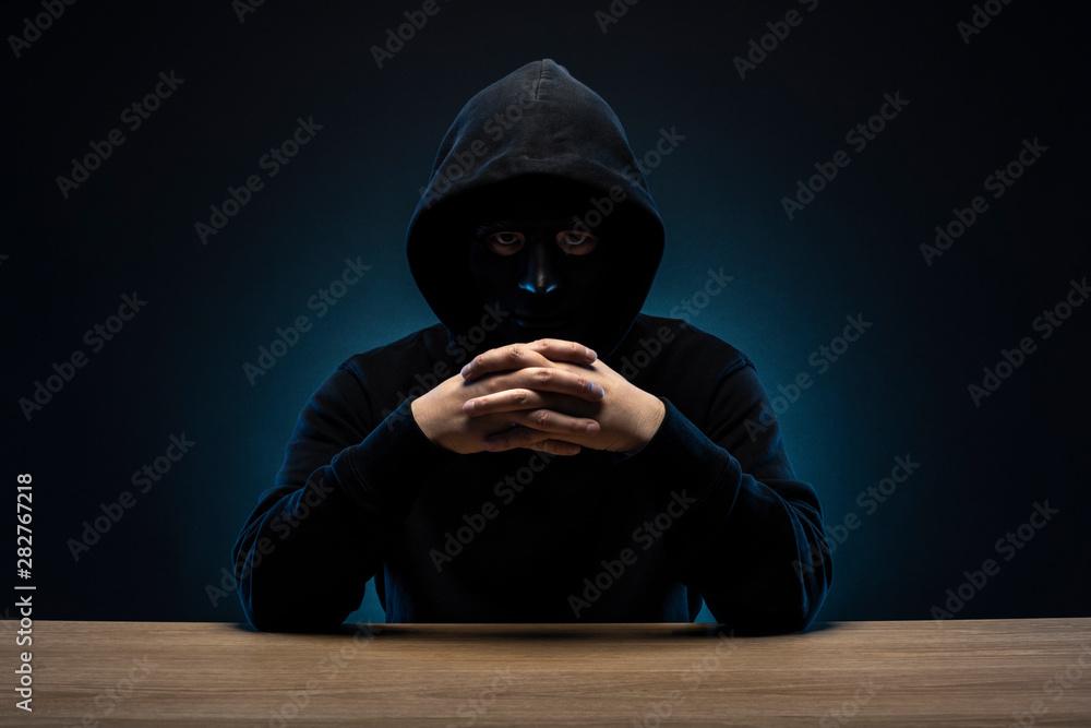 Fototapeta 仮面の男